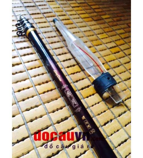 Cần câu đơn lắp máy Iso số 4 Taiwa 4.5m LongQuay cao cấp