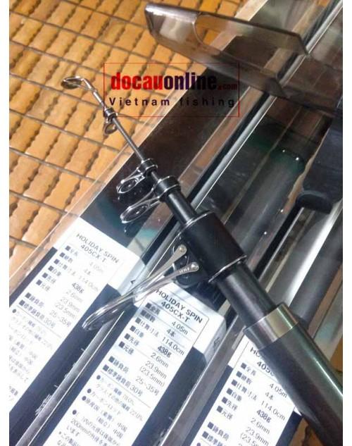 Cần câu lục Chính hãng Shimano Holiday spin 4.05 CX 4.05m New