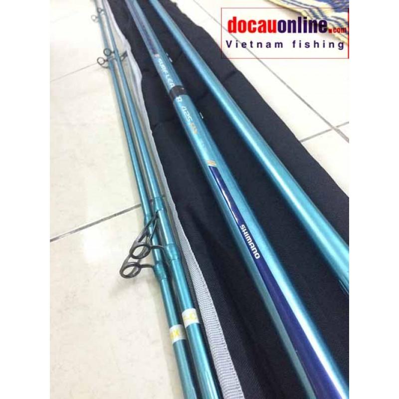 Cần câu lục 3 khúc shimano Surf leader 425 BX, CX - Taiwan