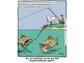 Cần câu cá, máy câu cá - con cá quá lớn dậy thôi