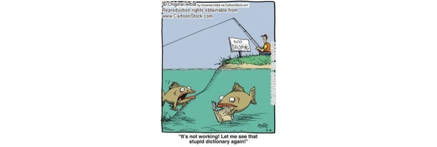 Thính câu cá, Dụ cá