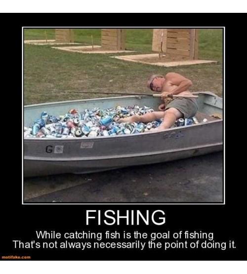 Cần câu cá, Ối ối cá cắn câu rồi