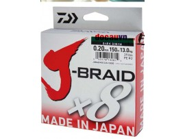 Dù câu cá, Dù câu DAIWA nhiều màu 150m Braid X8 Nhật bản