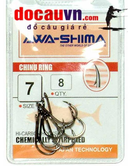 Lưỡi câu cá, lưỡi câu đơn AWASHIMA chính hãng nhật bản
