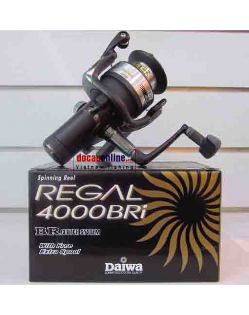 Máy câu cá  Daiwa chính hãng DAIWA Regal 4000BRi