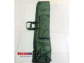 Túi đựng đồ câu cá vải tá 140cm, 3 ngăn 2 hộp